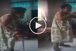 Kabogera si Lola! 82 year old lola dances to Running Man Challenge