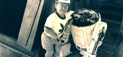 Kenny Baker the actor that played R2D2 died at the age of 81
