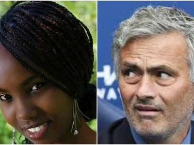 Is this the Kenyan lady dating Manchester's Jose Mourinho?