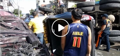 Nakakatakot! Dump truck leaves horrific damages, 15 injured, and 2 in critical condition