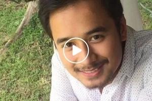 Para kanino kaya ang mensahe ni JM? JM De Guzman's sweet video message melts the hearts of netizens