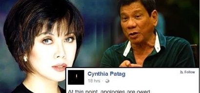 Cynthia Patag apologizes for 'failed gamble' in Duterte-Robredo tandem