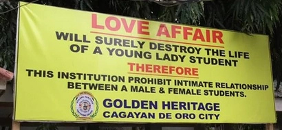 This school in Cagayan de Oro banned romance between students; here's why