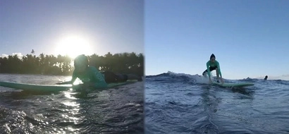 Adventurous si mommy! Toni Gonzaga fearlessly conquers the waves in Siargao