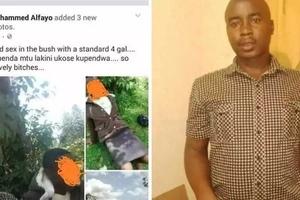 Jamaa aliyekiri kumnajisi mtoto wa shule Facebook akamatwa