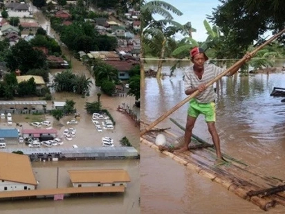 Insane flooding causes Davao to declare 'state of calamity'