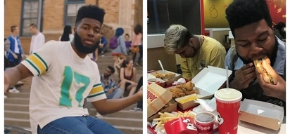 """Young Dumb & Broke"" singer Khalid and his rare Jollibee moment goes viral"