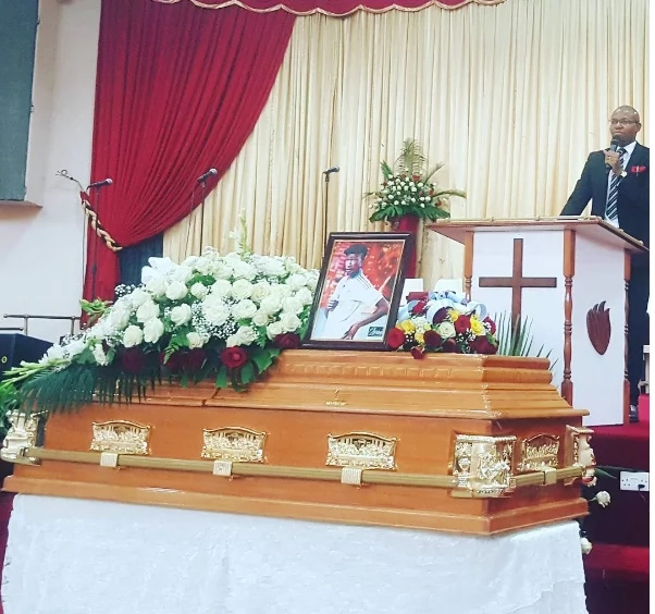 EXCLUSIVE photos from Ayeiya's memorial service