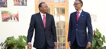PHOTOS: Uhuru Meets With Paul Kagame, Museveni In Rwanda