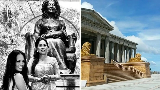 Philippines's Version of Taj Majal, Parthenon Inspired! Awesome!