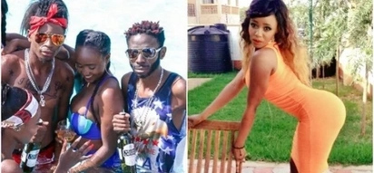 Socialite Essy Mimmo asks people to stop trolling Eric Omondi over huge cassava, claims it was photoshopped