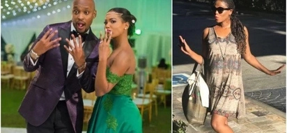 Wife to Grace Msalame's ex-husband seems to be pregnant in these photos
