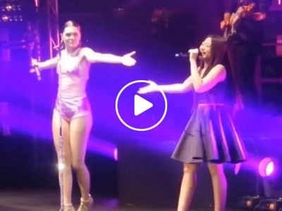 Morisette wows the crowd as she sings with international artist Jessie J on stage