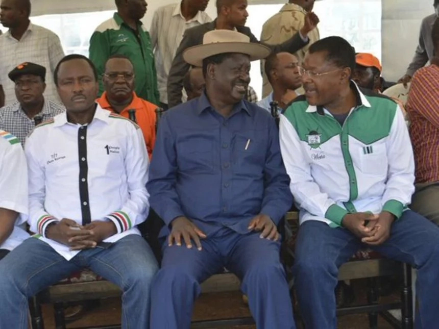 Dispute in CORD deepens as Wetangula is accused of disrespecting Raila