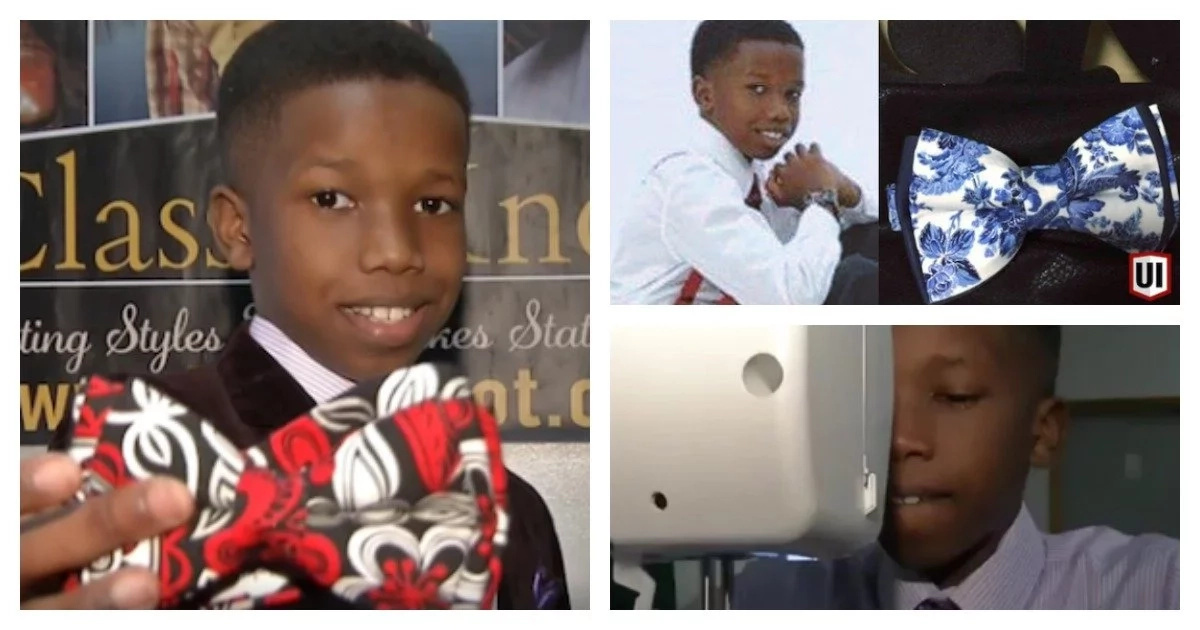 Never too early! Meet 11-year-old boy who is founder and CEO of his own clothing accessories company (photos, video)