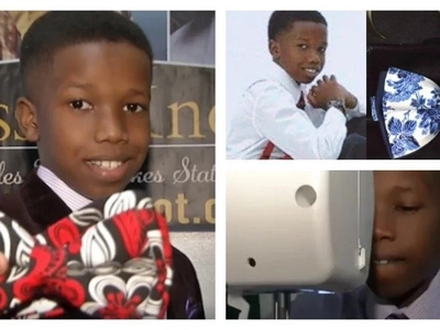 Never too early! Meet 11-year-old boy who is founder and CEO of his own clothing accessories company (photos)