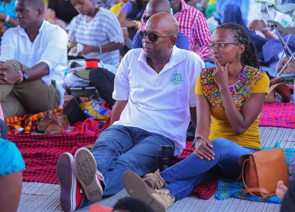 Bob Collymore and Wife Wambui prove Kenyans wrong and show they're still VERY MUCH TOGETHER and in love (photos)