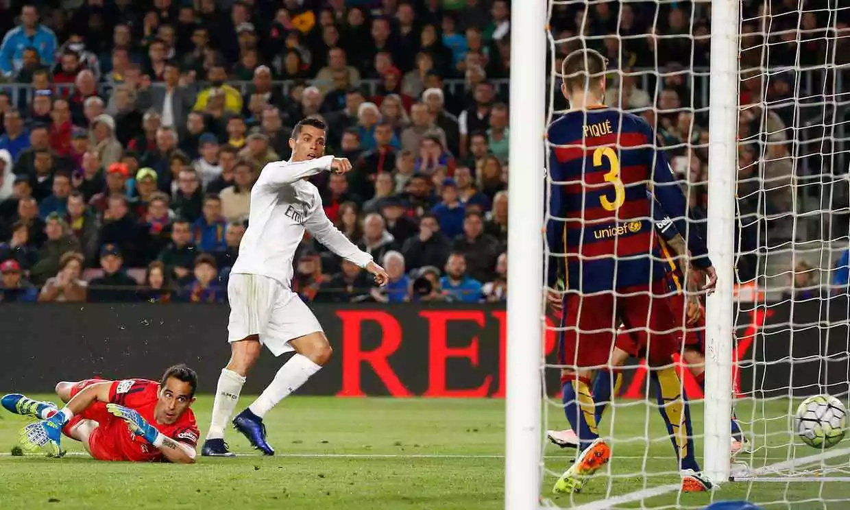 Ronaldo ends Barcelona's 39-game unbeaten run