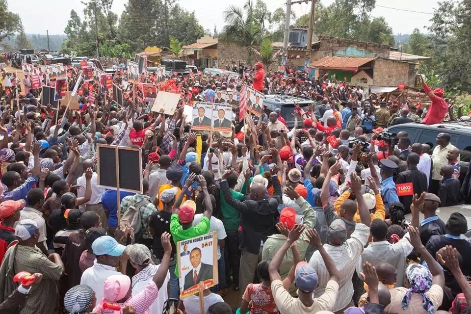 Uhuru's rants about Raila in Murang'a land him in trouble as Kenyans return fire