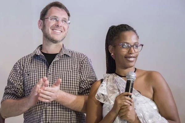 Chiapello and Ghersi have two children. Photo: Cyril Ndegeya