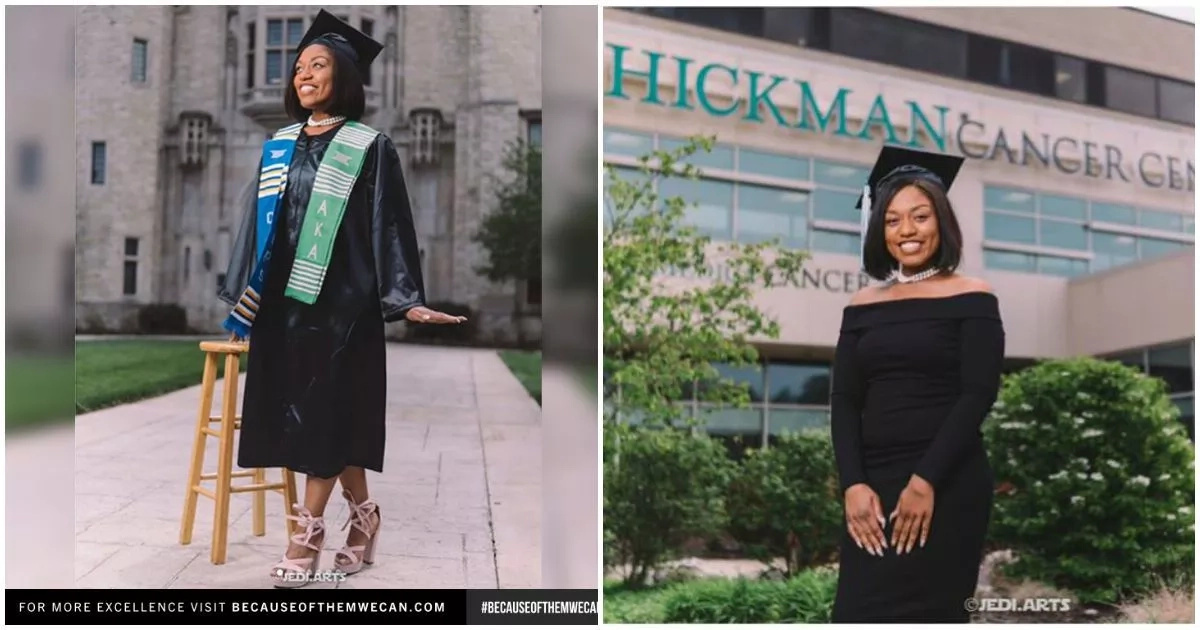 This inspirational lady overcame cancer to graduate from university with distinction (photos)