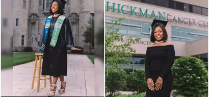 Inspirational! Woman overcomes CANCER to graduate from university with distinction (photos)