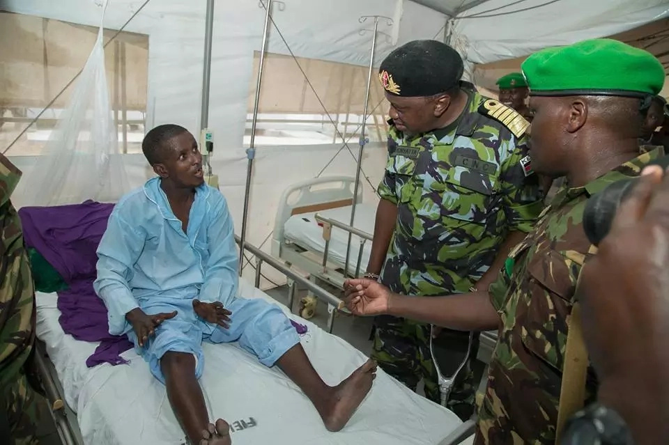 What Uhuru told KDF soldiers during his historic and surprise visit in Somalia