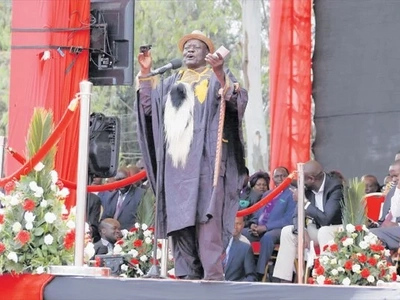 Luo elders in trouble after attending Jubilee rally in Nakuru