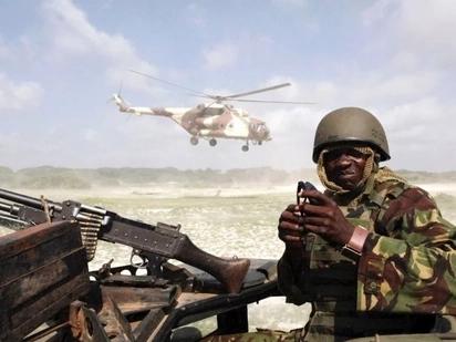 KDF wawaua al-shabaab 5 waliovamia kambi ya polisi Ijara, Garissa