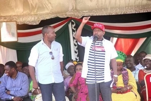 Sonko sharply differs with Nkaissery, supports Governor Joho in security debate