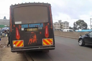 Photos of rogue matatu tout who STOLE KSh 950 from passenger