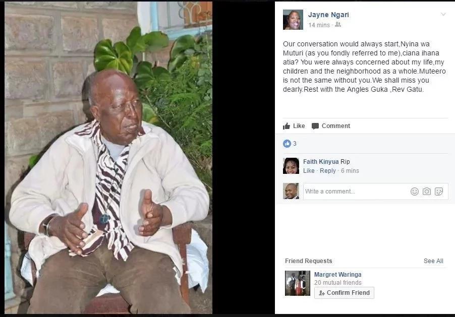 Uhuru amwomboleza adui wake?