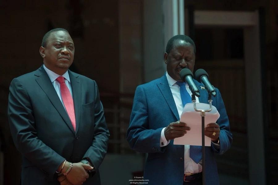 Matamshi ya Matian'gi bungeni yanakiuka mkataba kati yangu na Uhuru- Raila Odinga