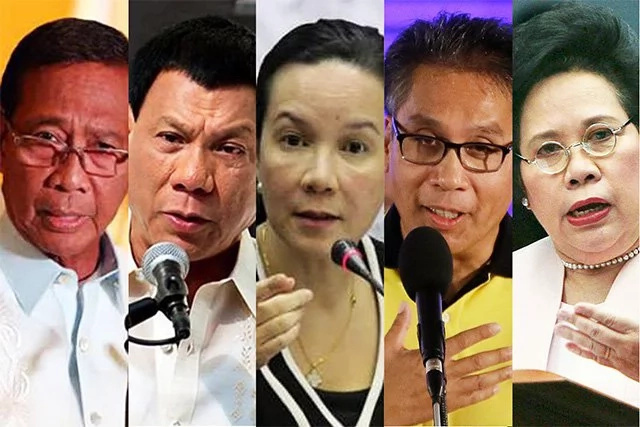 A recap on PH 2016 presidentiables