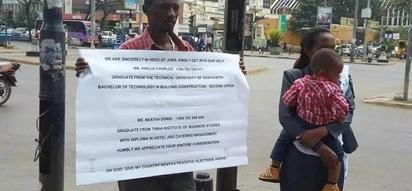 Mambo ni magumu sana: Wachumba wafika mtaani kuomba kazi