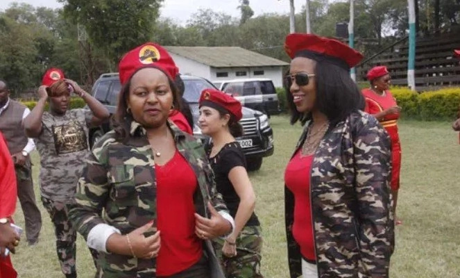 Jubilee female MPs choice of dress leaves Kenyans puzzled (Photos)