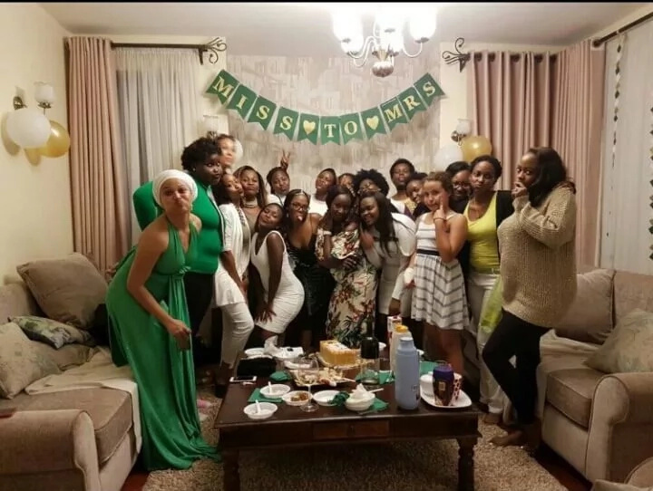 HOT fiancee of Grace Msalame's baby daddy celebrated in two BRIDAL showers