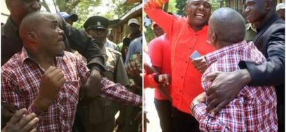 Wanasiasa Murang'a wafanya kitendo cha aibu wakimtarajia Rais Uhuru (picha)