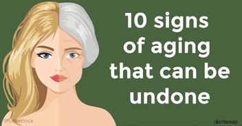 Top 10 signs of aging that can be undone