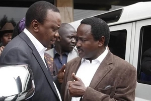Revealed: Why Kalonzo was pictured in a secret meeting with top Jubilee Party official