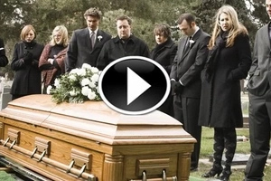 Children arrived at their father's funeral. But it turned out to be a completely unexpected suprise...