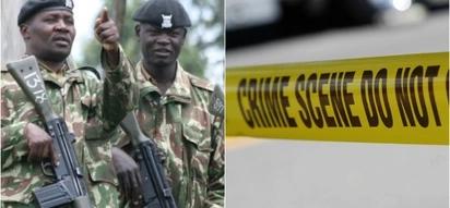 Afisa wa polisi aliyemuua mkubwa wake na kuwaumiza wenzake wawili akamatwa katika msitu