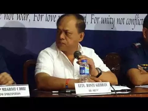 New NBI Director Gierran warns NBI officials