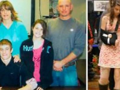 Papá protegió a hija de 13 años para salvarla de derrumbe. Entonces, el papá tomó su último aliento...