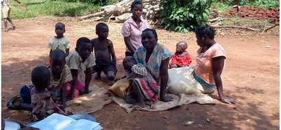 Woman, 36, has 9 children, including 21-year-old daughter who has 3 children of her own