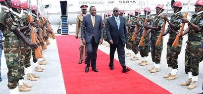 Uhuru's biggest expectation on KDF as he visits Somalia for the first time