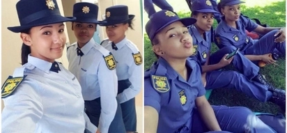 It should be a crime to be that beautiful: Female cops' beauty shook social media