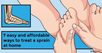 7 easy and affordable ways to treat a sprain at home