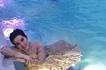 Biglaang photoshoot! Kris Aquino dips in a pool in her gown