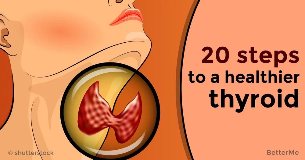 20 steps to a healthier thyroid